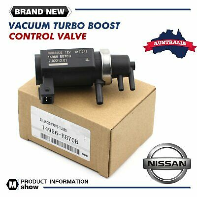 AU78.99 • Buy Nissan Turbo Vacuum Boost Solenoid Valve For Navara Pathfinder Yd25 14956-eb70b
