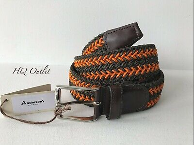 Anderson's Woven Braided Belt Size 90 • 35.99£