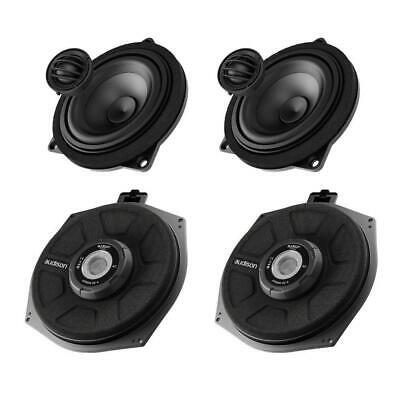 Audison Prima BMW 1 Series F20 F21 E82 Component Speakers & Underseat Subwoofers • 693.49£