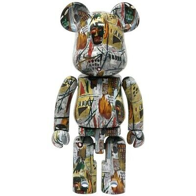 $250 • Buy Medicom Super Alloy BE@RBRICK Jean-Michel Basquiat 200% Bearbrick Figure