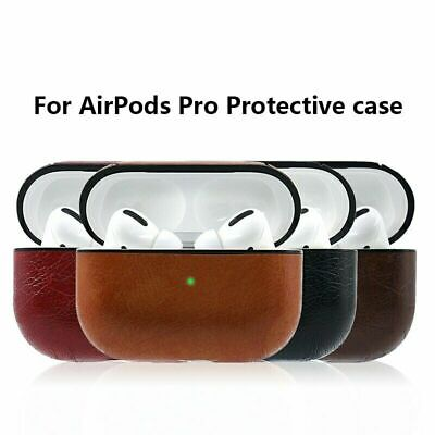 $ CDN7.57 • Buy For Apple AirPods Pro PU Leather Case Cover Protective  Bluetooth Earpods 3 Case