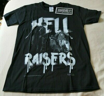 RUN DMC - Hellraisers T- Shirt Brand New With Tags  Small.  • 7.99£