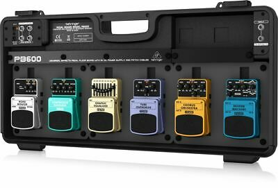 $ CDN233.89 • Buy Behringer PB600 Universal Effects Pedal Floor Board With 9 V DC Power Supply And