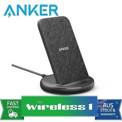 AU89 • Buy Anker PowerWave Sense Stand 15W Qi Wireless Charger - Black Fabric