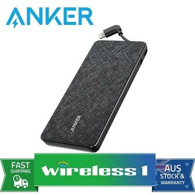 AU99 • Buy Anker PowerCore+ Metro 10000 Power Bank With Built-in Lightning Connector - B...