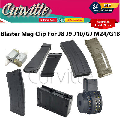 AU23.70 • Buy Magazine Clip Mag Fed Gen 8 9 J10 GJ M24 SKD Magazine Holder7-8mm Gel Blaster AU