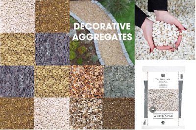 Big And Small Bags Pebbles Slate Decorative Chips Chippings  Garden Pea Gravel  • 9.95£