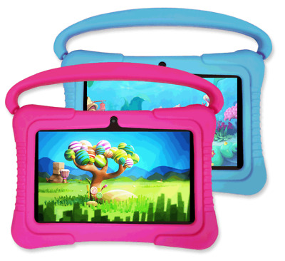 7'' Inch 16GB Kids Google Tablet PC Android 9.0 Quad Core Dual Camera WiFi • 56.99£
