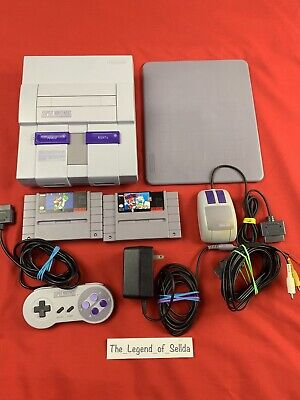 $ CDN175 • Buy Super Nintendo SNES Lot With Mario Paint + More
