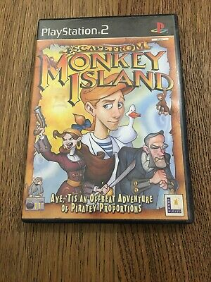 Escape From Monkey Island Playstation 2 (PS2) • 5.99£