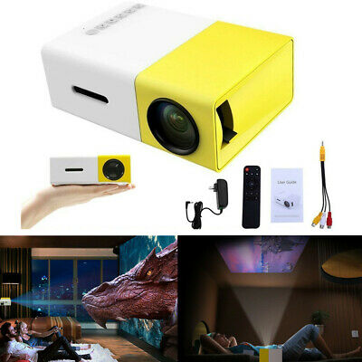 AU68.99 • Buy Portable Mini Projector YG300 HD LED Home Theater Cinema 1080P AV USB HDMI