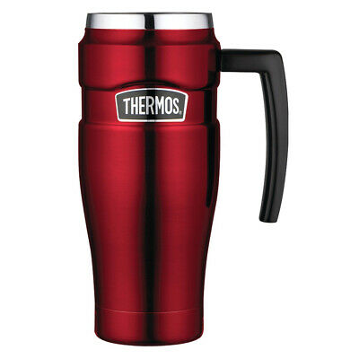 AU34 • Buy NEW Thermos Stainless Steel King Travel Mug Red 470ml