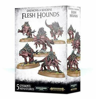 AU79.95 • Buy Daemons Of Khorne Flesh Hounds Warhammer