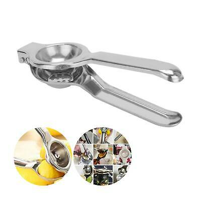 Lemon Lime Squeezer Juicer Stainless Steel Kitchen Home Manual Hand Press Tool • 4.59£