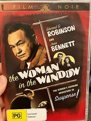 AU41.50 • Buy The Woman In The Window Region 4 DVD (1944 Fritz Lang Film Noir Drama Movie)