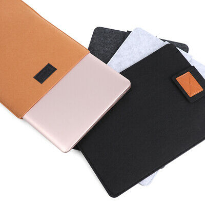 $8.86 • Buy Wool Felt Fashion Laptop Case Cover Ultrabook Sleeve For Macbook Air Pro Retina-