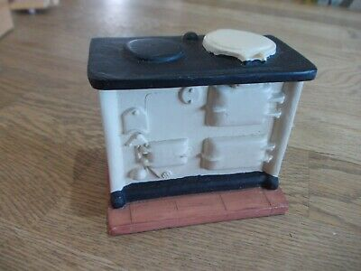 Cream Resin Dolls House Aga/stove In Good Condition • 7.99£