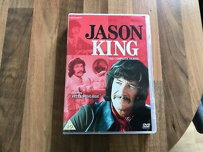 Jason King The Complete Series Uk Dvd Boxset In As New Condition • 22.99£