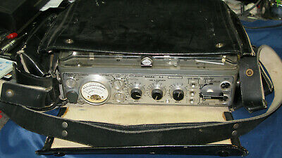 Nagra 111 And 4.2 Series Hide Leather Carying Case In Good Condition Case Only  • 199£