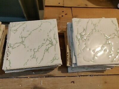 £45 • Buy H&R Johnson Cristal Chicken Tile Budgie Green Approx 100