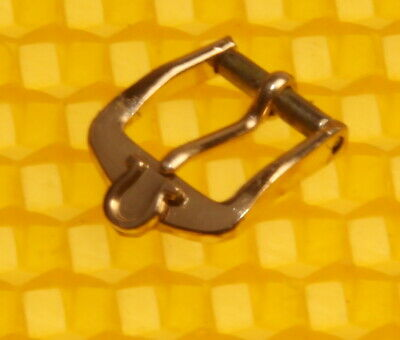 8mm Vintage OMEGA Gold-Tone Buckle For Watch Strap Band SWISS MADE <NWoT> • 14.44£
