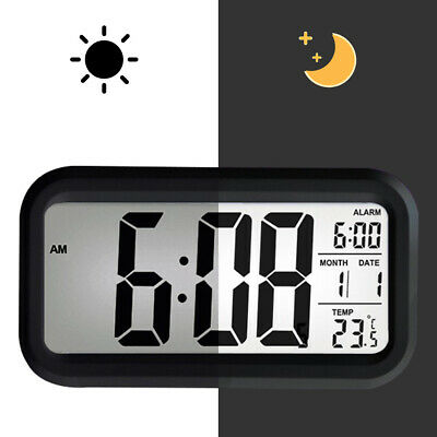 AU13.29 • Buy Led With Calendar+Thermometer Backlight Electronic Alarm Clock Digital Time AU