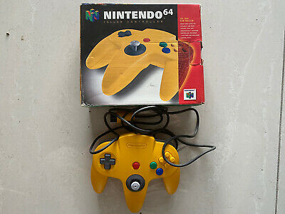 AU129.99 • Buy Genuine Authentic Original Nintendo 64 Controller Only Yellow N64 Used