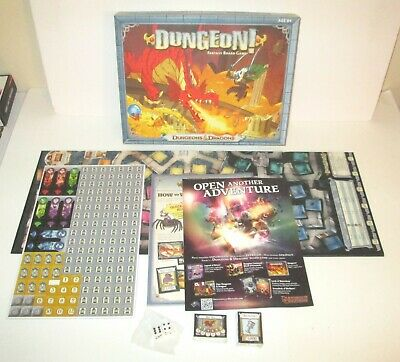 AU13.35 • Buy Dungeon!  Wizards Of The Coast D&D Dragons Fantasy Board Game New Open Box