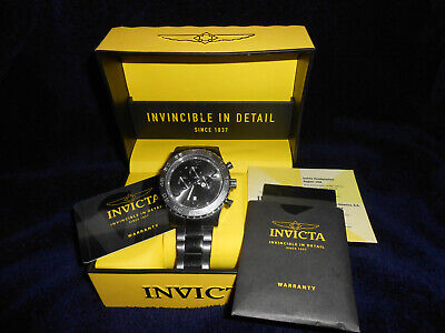 Invicta 15164 Specialty Mens 50 Stainless Steel • 95£
