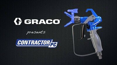 *new* Genuine Graco Pc Contractor Airless Paint Spray Gun - 2 Setups To Choose F • 309.55£