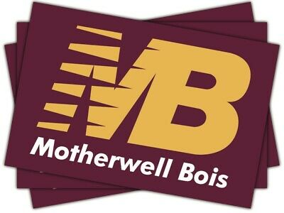 20 X Motherwell FC Stickers Shirt Flag Scarf Badge • 1.99£