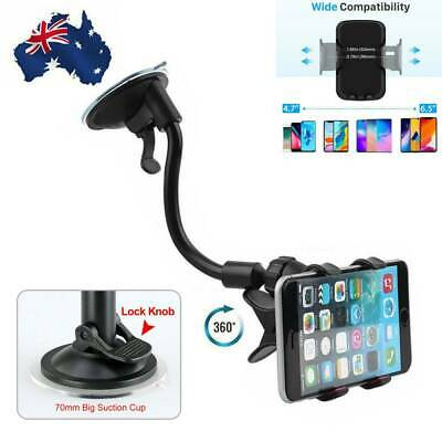 AU12.79 • Buy Universal Car Phone Holder Windscreen Suction Mount Stand Cradle For IPhone GPS
