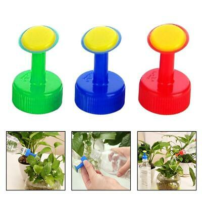 Pot Watering Bottle Water Cans Plastic Small Sprinkler Nozzle Head Portable Home • 3.35£