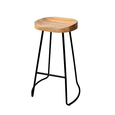 AU185.54 • Buy Artiss 2 X Vintage Tractor Bar Stools Retro Bar Stool Industrial Chairs 75cm