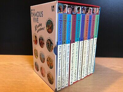 The Famous Five Enid Blyton Box Set Collection Of 10 Books • 16.99£