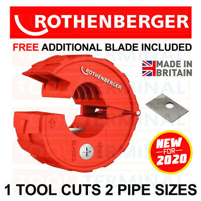 £17.99 • Buy Rothenberger Plasticut PRO Pipe Cutter Cuts 15mm & 22mm Hep20 Speed Fit Polypipe