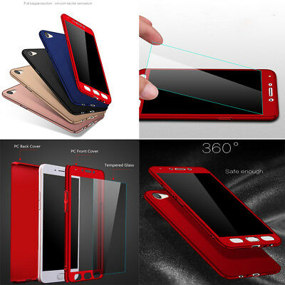 AU12.58 • Buy For VIVO Y17 Y15 Y12 Full Protector Case PC+Glass Screen Protector Cover