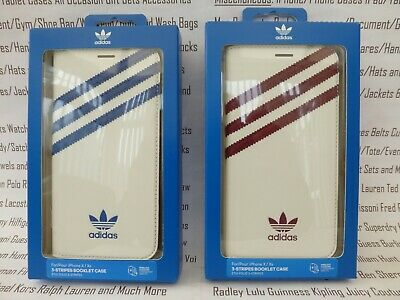 AU45.65 • Buy ADIDAS IPhone X / Xs Booklet Case White Leather Look Flip Wallet Cover BNIP R£32