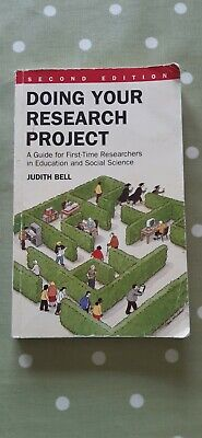 £5 • Buy Doing Your Research Project: A Guide For First-time Researchers In Education An…