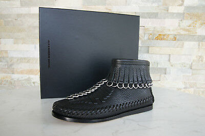 AU409.84 • Buy Alexander Wang Size 36 Ankle Boots Shoes Leather Black New Previously