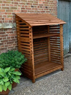 Wooden Log Store • 140£