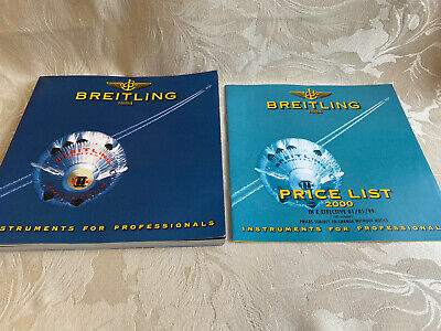 £49.99 • Buy Breitling Watch Catalogue Chronolog 2000 With 99/00 Price List - RARE