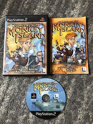 Escape From Monkey Island (PS2) - PS2 COMPLETE WITH MANUAL • 6.99£