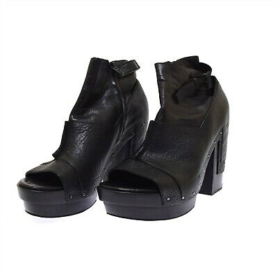 AU326.51 • Buy Alexander Wang Black Leather Bootie Claudia Women's Boots 40 US 10 NEW