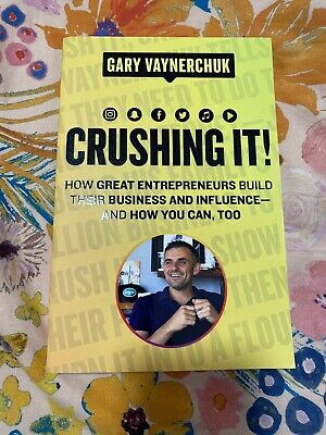 AU35 • Buy Crushing It How Great Entrepreneurs Build Their Business And Influence Free Post