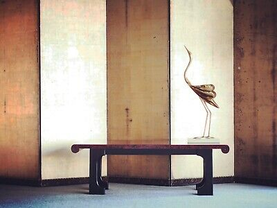 AU525 • Buy A Unique Lacquer Coffee Table Japanese Art Deco Style Mid Century Modern