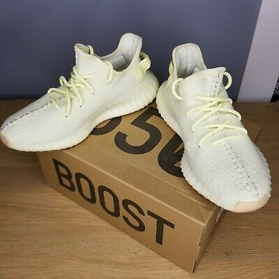 $ CDN373.34 • Buy ADIDAS YEEZY BOOST 350 V2 Size 8.5 Butter F36980 Worn One Time 100% AUTHENTIC
