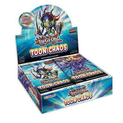 YUGIOH SEALED TOON CHAOS BOOSTER BOX (24 Count) Unlimited Reprint • 789.99£