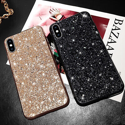 Bling Glitter Soft Case Cover For Huawei Y6 Y5 2019 P30 Mate 20 Sequins Elegant • 4.34£