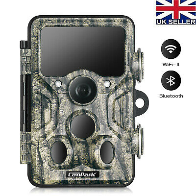 £49.35 • Buy Campark Trail Camera 20MP WiFi Bluetooth Wildlife Hunting Game Cam Night Vision
